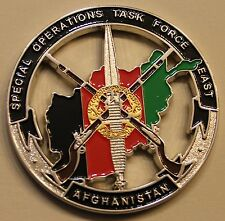 Special Operations Task Force East Afghanistan Green Berets Army Challenge Coin