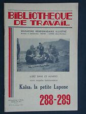 BT 288 - 289 Kaïsa la petite lapone - Laponie Renne Finlande Vickings l'élan