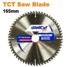 Wellcut Circular Saw Wood Blade 165mm x 48T x 20mm Bore For Dewalt, Makita, Bosh