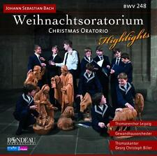 Weihnachtsoratorium Highlights (Christmas Oratorio - Bach / Bille (2014, CD NEU)
