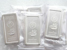 2009 Cook Islands Ship $5 Five Dollar 100 Gram Silver Bullion Coin Bar Sealed