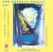 The Orpheus Oracle: Music by Darrell Handel, Gerhard Samuel New CD