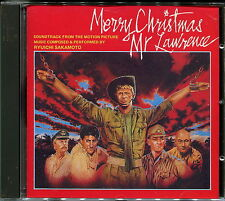 "RYUICHI SAKAMOTO ""Merry Christmas Mr. Lawrence, Soundtrack"" No Barcode, Japan CD"