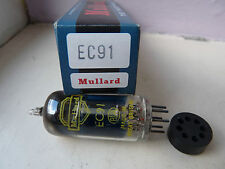 EC91 MULLARD 6AQ4  YELLOW PRINT  NOS VALVE TUBE 1PC