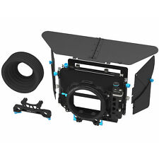 FOTGA DP500III 3 Cine PRO DSLR Swing-away Matte Box for 15mm/19mm Rod Camera Rig