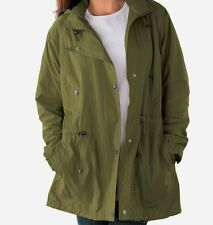 Green Avacado Women's Jacket Lined Hood Hooded Hoodie Size 1x Large