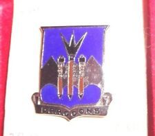 CREST,DI, 29TH ARMORED INFANTRY BN, PIN BACK, MEYER HM