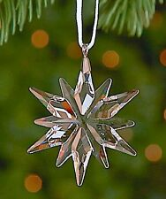 2011 Swarovski~Little STAR Snowflake Mini Christmas ORNAMENT ~ w/ box & coa