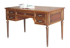 Bureau 5 tiroirs de style Louis XVI - Table bureau - Bureau plat - Made in Italy