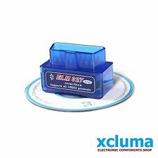 SUPER MINI ELM327 BLUETOOTH v2.1 EOBD 2 CAN BUS OBD2 CAR READER SCANNER BE0392