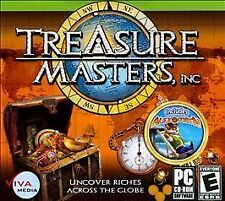 Treasure Masters Inc. - Hidden Object Puzzle Windows PC Computer Game NEW SEALED