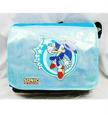 Sonic the Hedgehog  Large Messenger Diaper Computer Bag- Blue Licensed by SEGA