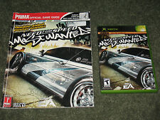 Need for Speed: Most Wanted Lot Complete Game & Official Strategy Guide Xbox