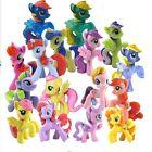 10PCS / Set Colourful My Little Pony PVC Action Figures Toy Doll Desk Decoration