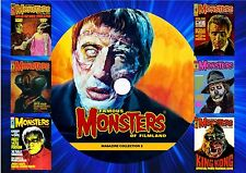 FAMOUS MONSTERS OF FILMLAND MAGAZINE COLLECTION 2 ON DVD ROM(PRINTED DISC)