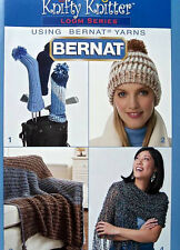 Patterns For Knifty Knitter Loom Series Using Bernat Yarns