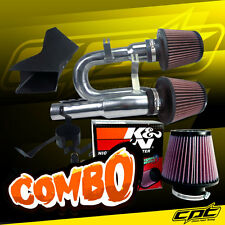 07-10 BMW 335i 3.0L L6 E90/E92/E93 Polish Cold Air Intake + K&N Air Filter