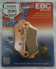 "KTM EXC-F 350 / Six Days (2011 to 2015) EBC ""R"" Sintered FRONT Brake Pads FA181R"