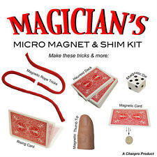 Magician's magnetic & Shim Kit - Make Lots of magic tricks for yourself!