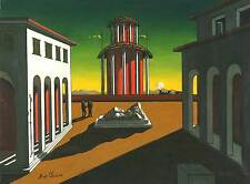 De Chirico cod 14 Poster 70x100 cm Stampa Glicée Papi, Papi Arte