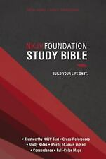 New King James Version Foundation Study Bible, hardcover Free Shipping