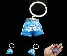 MUAY THAI KEYCHAIN,KEYRING COLLECTIBLES MUAYTHAI SHORT KICK BOXING FREE SHIPPING