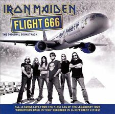 Flight 666 [Original Soundtrack] by Iron Maiden (CD, Jun-2009, 2 Discs, Sony...