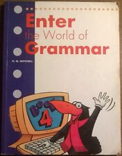 Enter the world of grammar: 4 English edition -Mitchell 1998, MM Publications -L