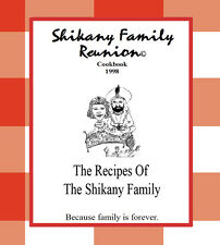 Shikany Family Reunion Cookbook CD-ROM Middle Eastern Lebanese Recipes +