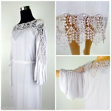 Casadei Lavender Dress Lilac Mother Of The Bride Groom Formal Crochet Party