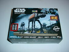 Star Wars Rogue One Imperial At Act Cargo Walker Revell Model Snap w/ Lights Kit