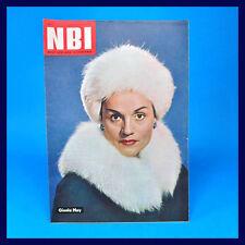 DDR NBI 11/1962 - 50. Geburtstag - Gisela May Winterbahn Berlin Ekuador Leipzig
