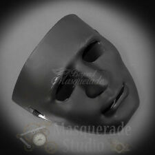Michael Myers Inspired Halloween Costume Adult Theater Masquerade Mask [Black]