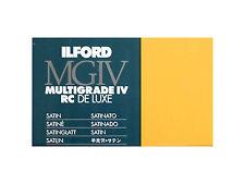 Carta per Stampa Bianco e Nero - Ilford Multigrade IV RC Deluxe 18x24x25 Opaca