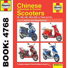 Chinese Taiwanese Korean 50cc 125cc 150cc Scooters Haynes Workshop Manual