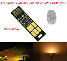MINI Touch Switch USB mobile power camping lamp LED night light White lamp AS
