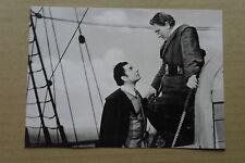 (X16-1) PRESSEFOTO Leo Genn/Spencer Tracey - Schiff ohne Heimat - 1952