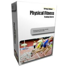 Physical Fitness Gym Exercise Muscle Building Training Course Guide Manual CD