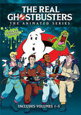 The Real Ghostbusters: Volumes 1-5 Animated Series DVD Brand New Box Set