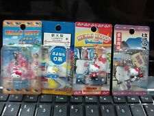 HELLO KITTY - KEYCHAIN - 4 items 1 set K - RARE - JAPAN - Phone Cell - Special