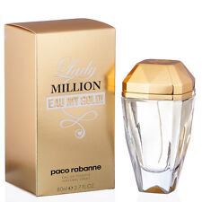 Lady Million Eau My Gold! by Paco Rabanne Eau de Toilette Spray 2.7 OZ (80 ML)