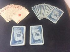 Capstan Navy Cut Advertising Vintage Pack of 1930's Tobacciana Playing Cards