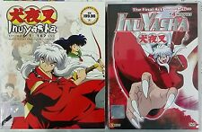 DVD Anime INUYASHA 167 Eps + The Final Act 26 Eps + 4 Movie English Audio ALL R0