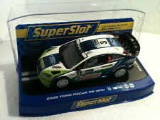 qq H 2802 SUPERSLOT FORD FOCUS RS WRC 06 R ARGENTINA No 3 GRONHOLM Scalextric UK