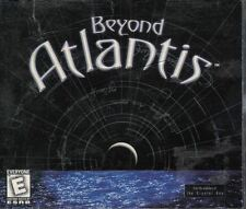 Beyond Atlantis 2000 Jewel Case PC Game DreamCatcher for Windows 98/95 4 Discs
