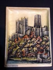 Vintage Ivorex Osborne Durham Cathedral England 3D Wall Plaque Picture Hanging