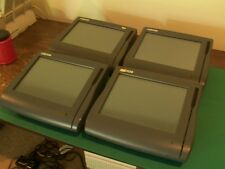 LOT of FOUR Micros WorkStation 4 Terminals 400614 3700  WS4 IDN POS 500614 E7