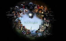 Poster A3 Star Wars Todas Las Películas / All The movies