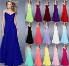 New Wedding Ball Bridesmaid Dress Evening Formal Party Prom Gown Stock Size 6-18