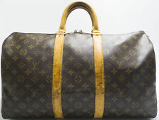 Authentic Louis Vuitton Unisex Keepall Bandouliere 45 Monogram